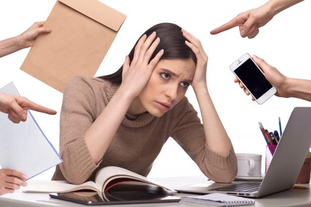 ストレスが多いの画像