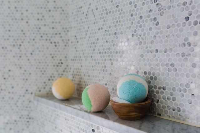 お風呂で炭酸水の画像
