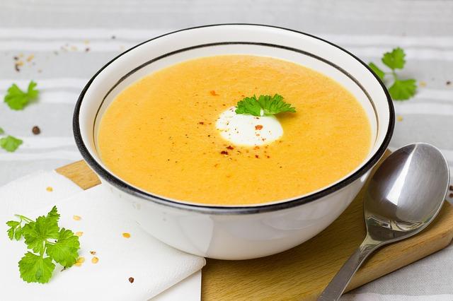 野菜スープの画像