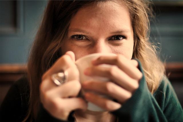 お腹に優しい飲み方を紹介!の画像
