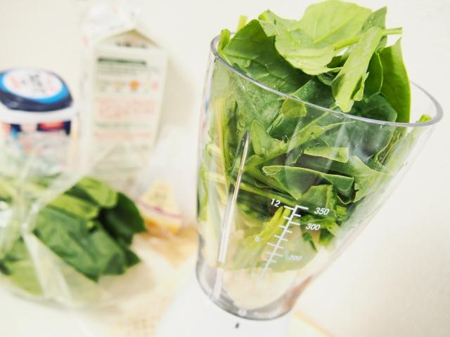 青汁やグリーンスムージーを作るときのポイントの画像